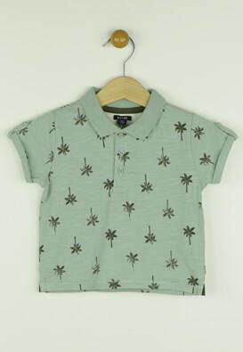 TRICOU KIABI BILLY LIGHT GREEN