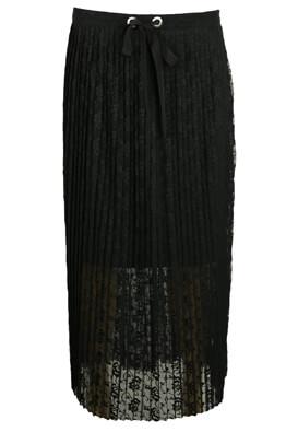 FUSTA KIABI KITTY BLACK