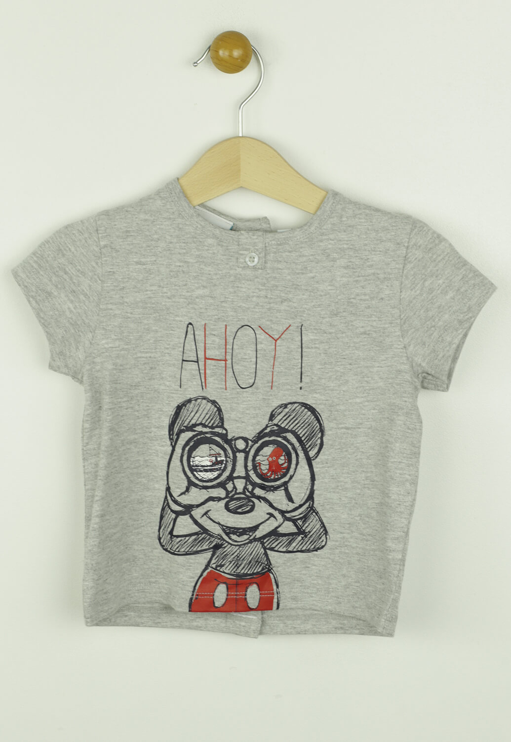 Tricou Disney Geri Grey