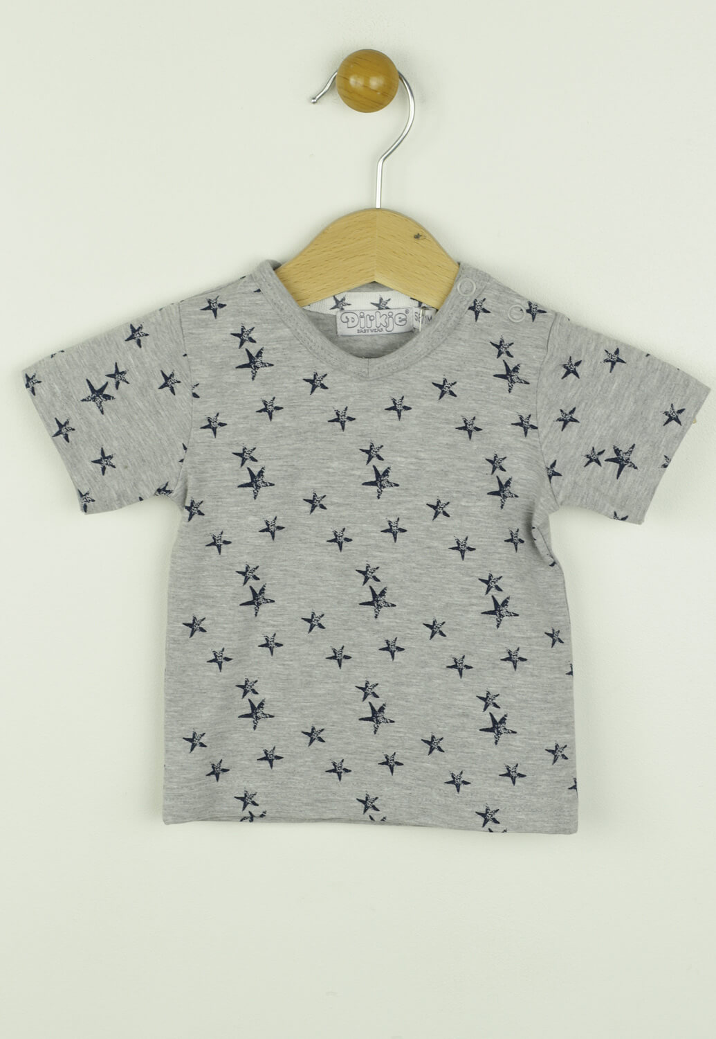 Tricou Dirkje Sam Light Grey