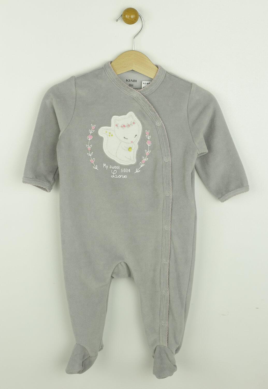 Pijama Kiabi Charlotte Light Grey
