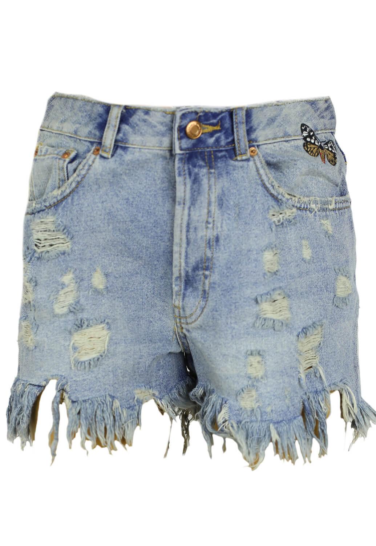 Pantaloni scurti ZARA Elisa Blue