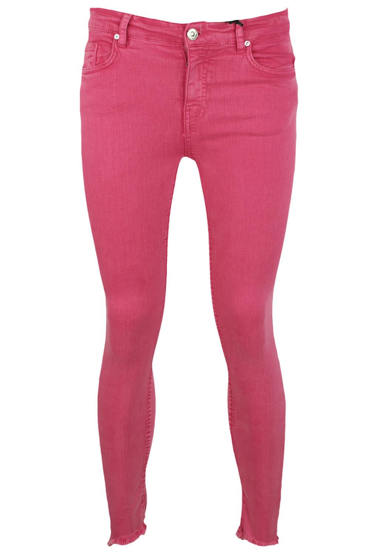 Pantaloni ZARA Lois Dark Pink