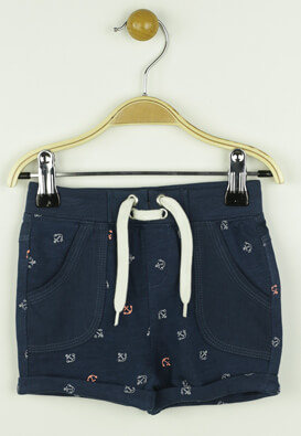 PANTALONI SCURTI KIABI GEORGE DARK BLUE