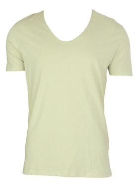TRICOU ZARA HUDDY LIGHT GREEN