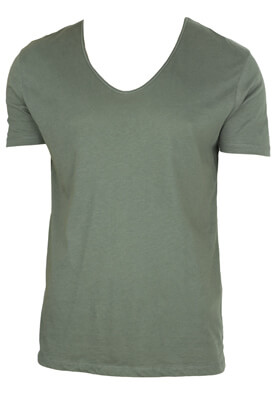 TRICOU ZARA TIM DARK GREEN