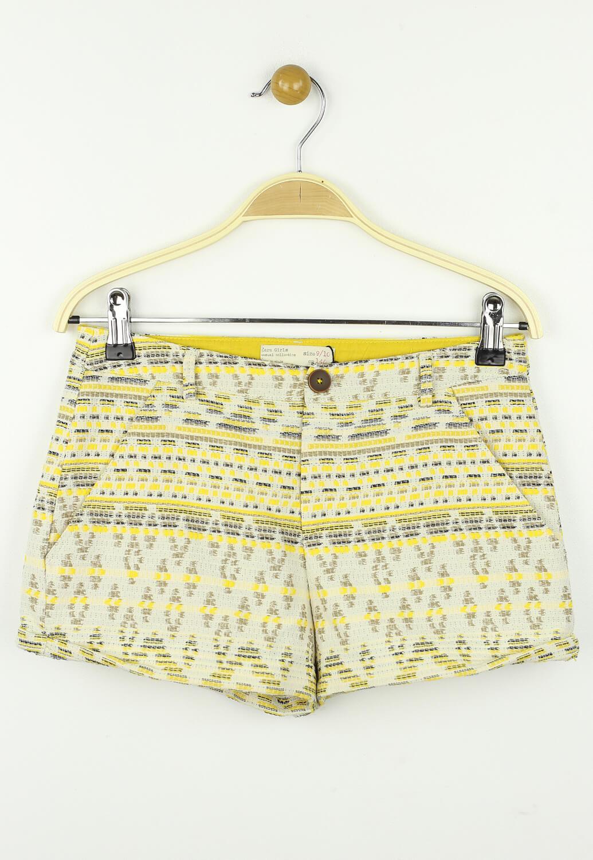 Pantaloni scurti ZARA Isabel Yellow