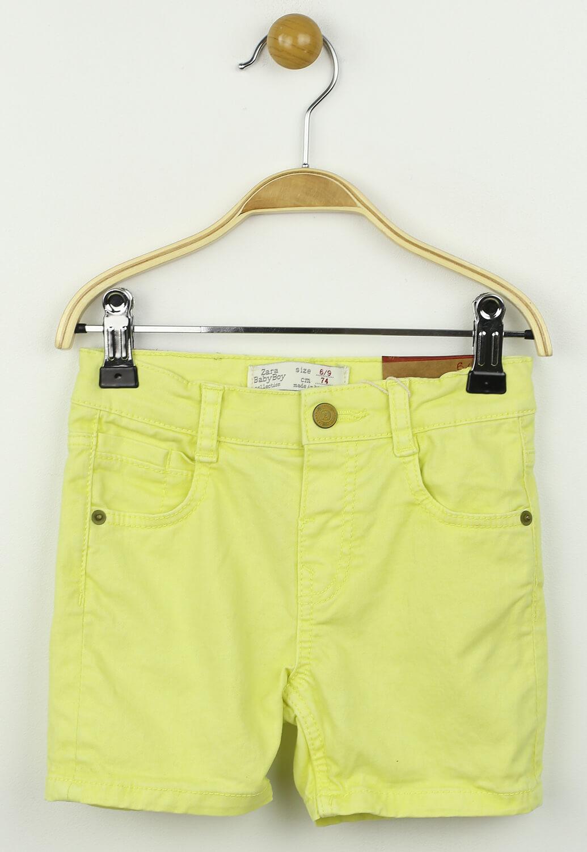 Pantaloni scurti ZARA Rebecca Yellow