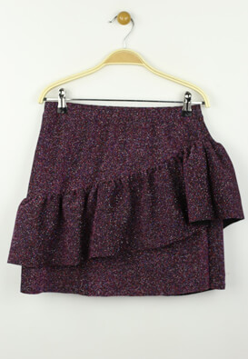 FUSTA ZARA SABRINA DARK PURPLE