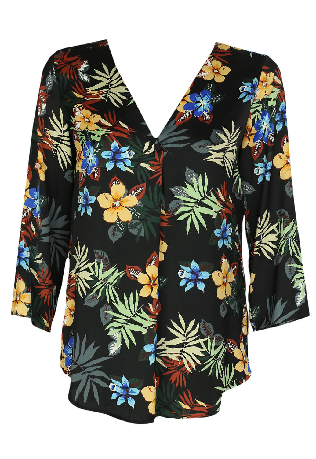 Bluza Stradivarius Flowers Colors