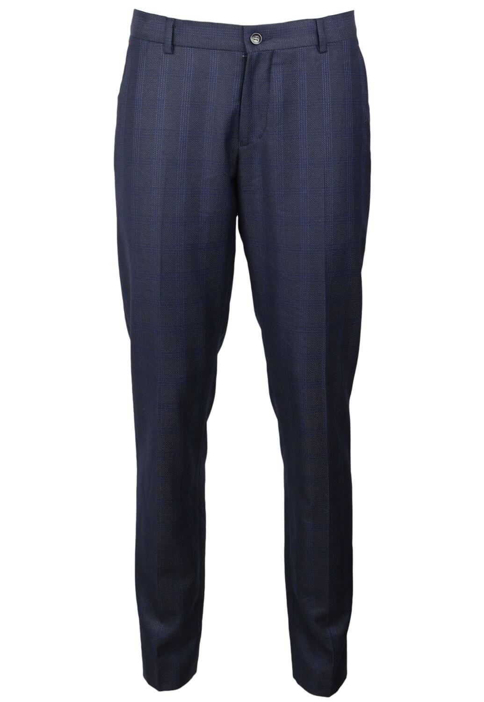 Pantaloni de stofa ZARA Kirk Dark Blue