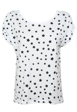 TRICOU ZARA STARS WHITE