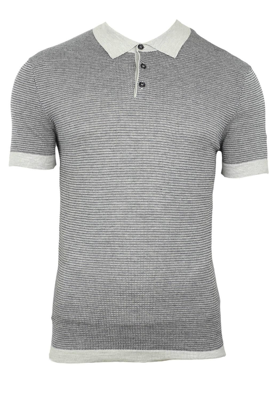 Tricou Polo ZARA Hal Grey