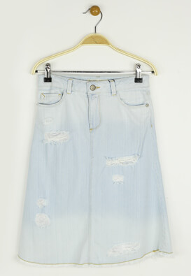 FUSTA ZARA YASMIN LIGHT BLUE