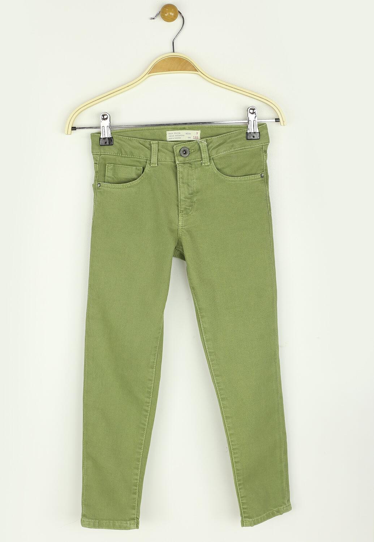 Pantaloni ZARA Zoe Dark Green