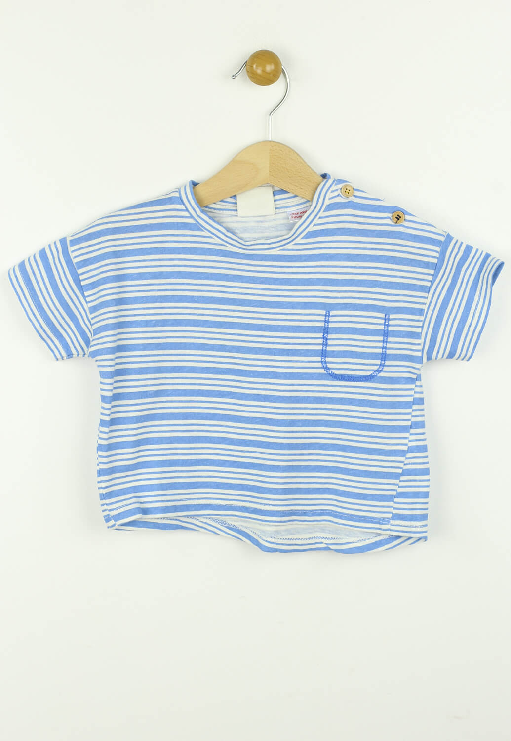 Tricou ZARA Nick Blue