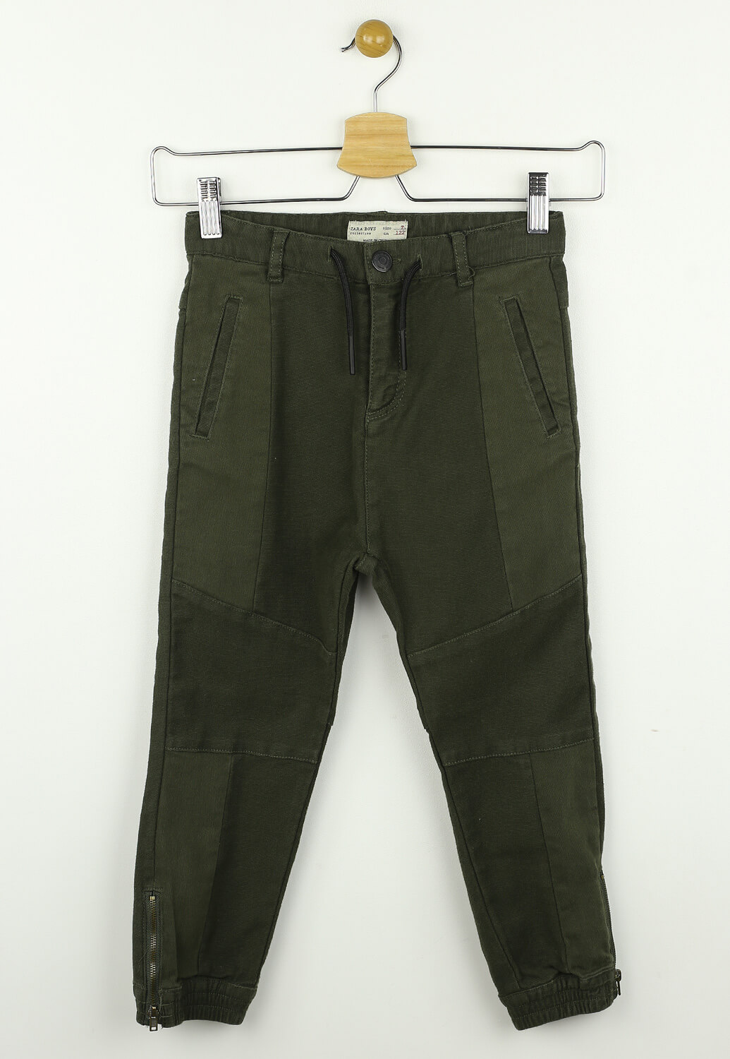 Pantaloni ZARA Blair Dark Green