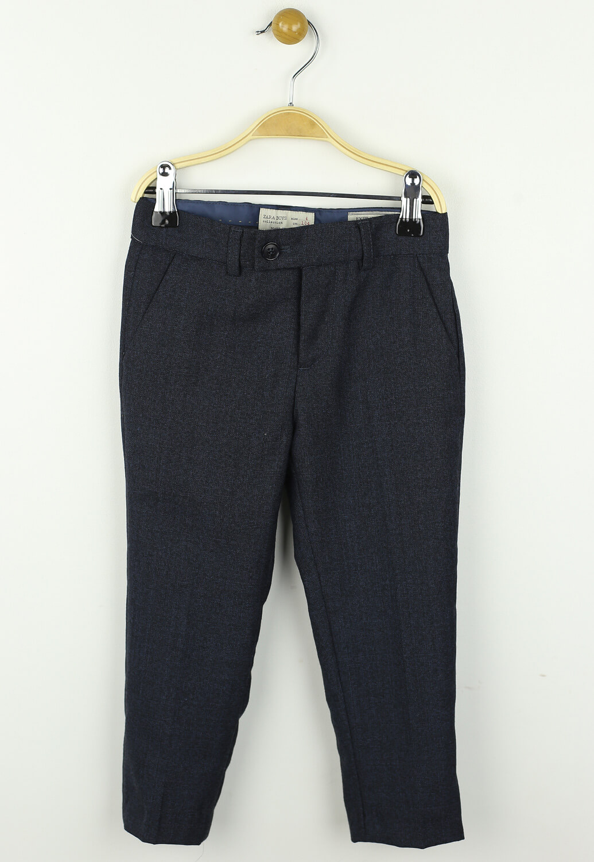 Pantaloni de stofa ZARA Lars Dark Blue