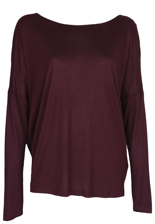Bluza Reserved Brenda Dark Purple