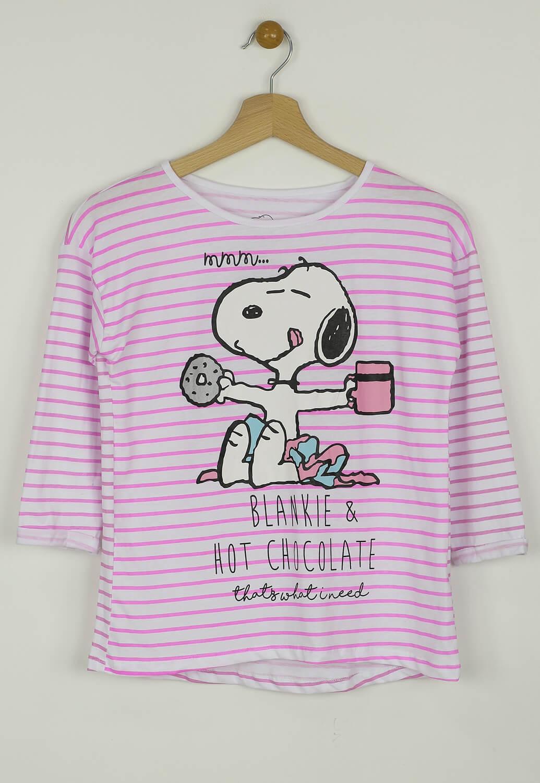 Pijama Reserved Peanuts White