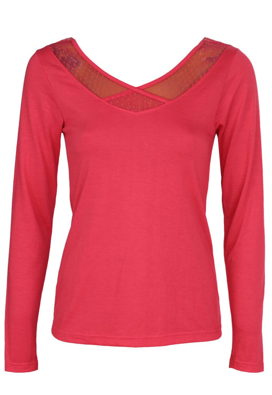 Bluza Nuit Secrete Enya Dark Pink