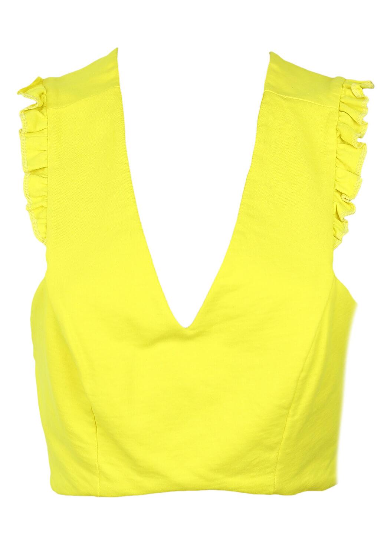 Top ZARA Ciara Yellow
