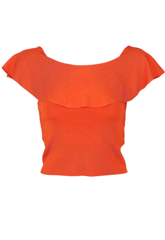 Tricou ZARA Susan Dark Orange
