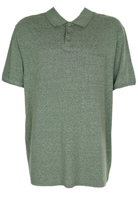 TRICOU POLO KIABI LUKAS DARK GREEN