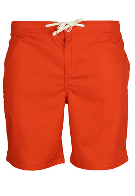 PANTALONI SCURTI KIABI STEFAN DARK ORANGE