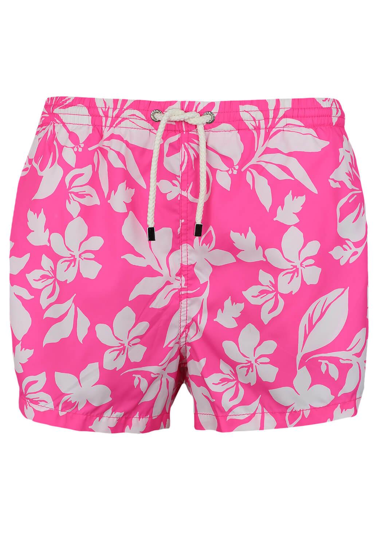 Pantaloni Scurti De Baie ZARA Flowers Pink