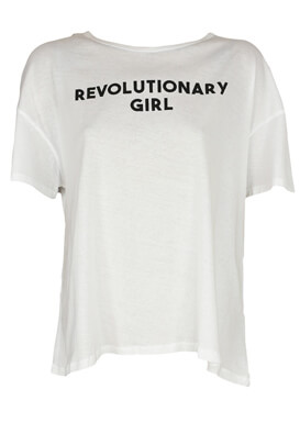 TRICOU PULL AND BEAR ABBY WHITE