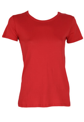 TRICOU PULL AND BEAR RAMONA RED
