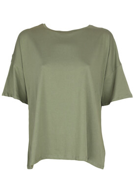 TRICOU PULL AND BEAR DOREEN DARK GREEN