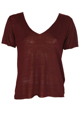 TRICOU PULL AND BEAR SUE DARK PURPLE