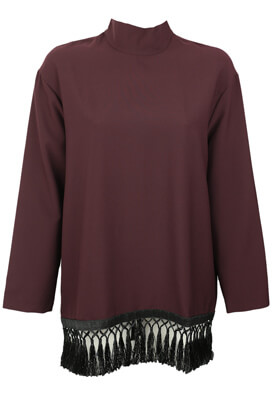 BLUZA ZARA SHELLEY DARK PURPLE