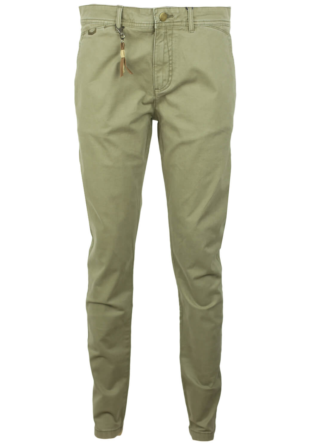 Pantaloni ZARA Riley Dark Green