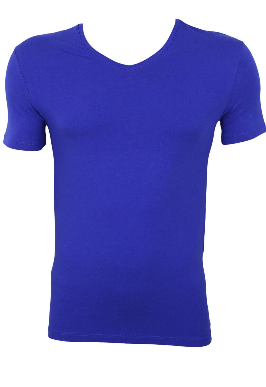 Tricou ZARA Basic Blue