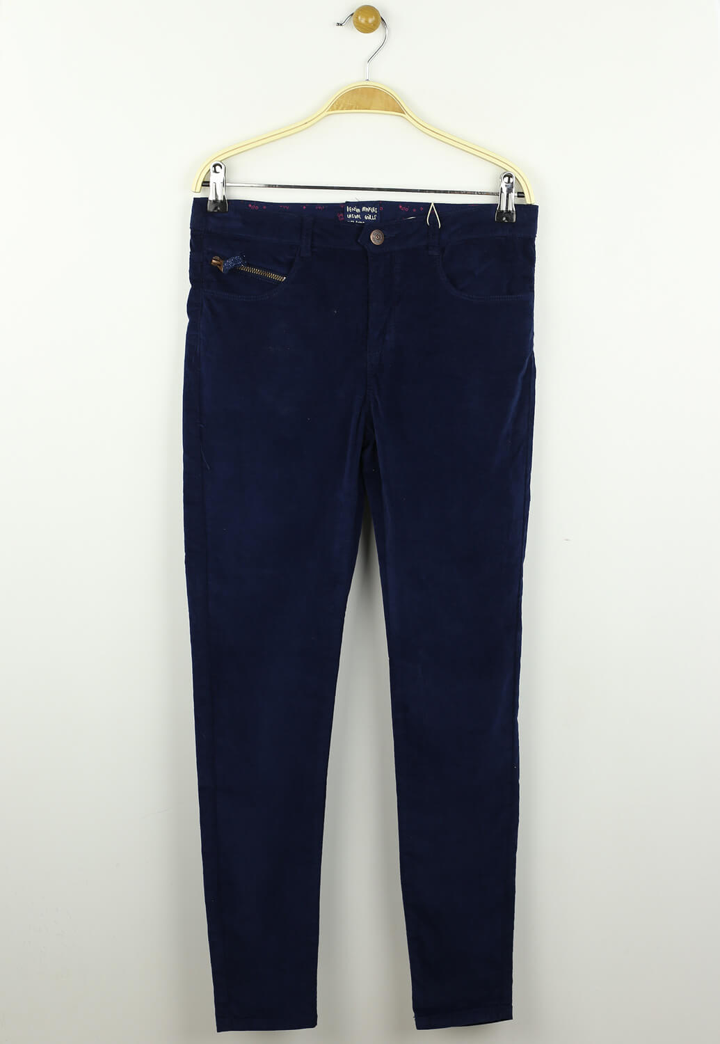Pantaloni ZARA Whitney Dark Blue