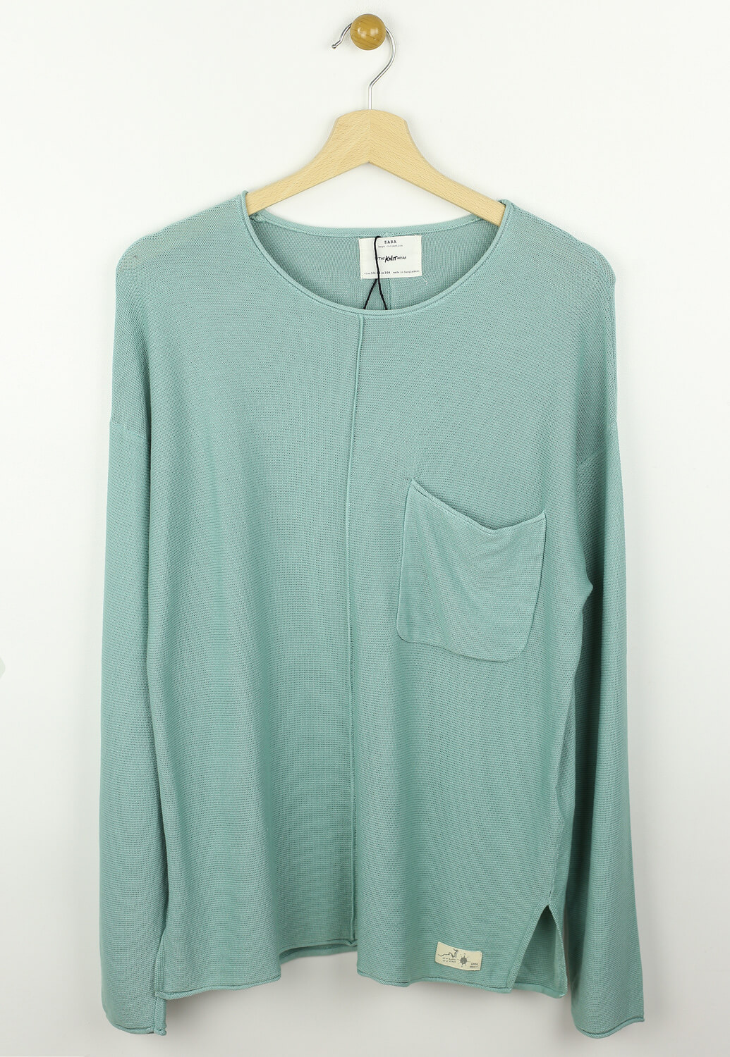 Bluza ZARA Chess Green