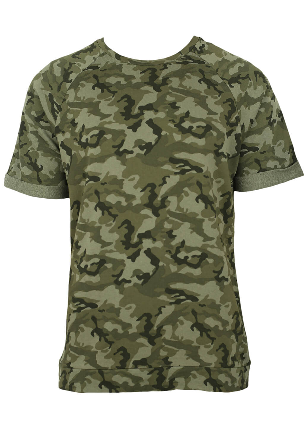 Tricou ZARA Army Dark Green