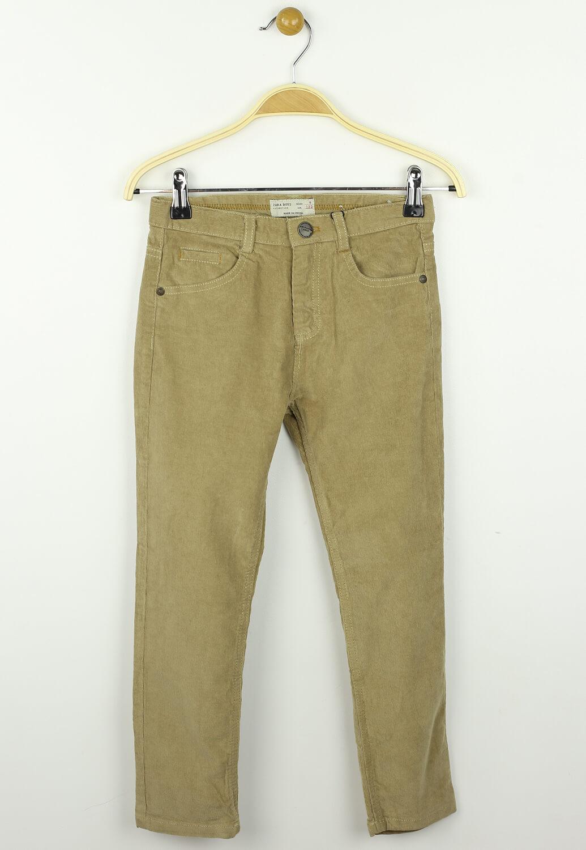 Pantaloni ZARA Geri Brown