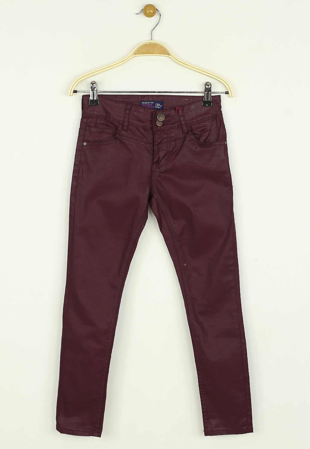 Pantaloni Reserved Jane Dark Purple