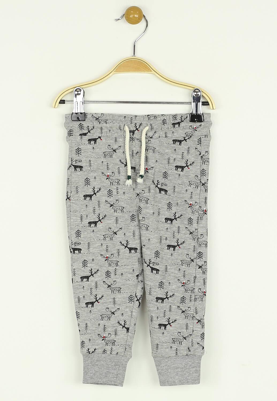 Pantaloni sport Reserved Will Grey