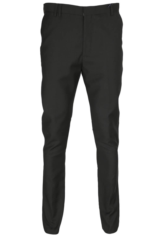 Pantaloni De Stofa Reserved Christian Black