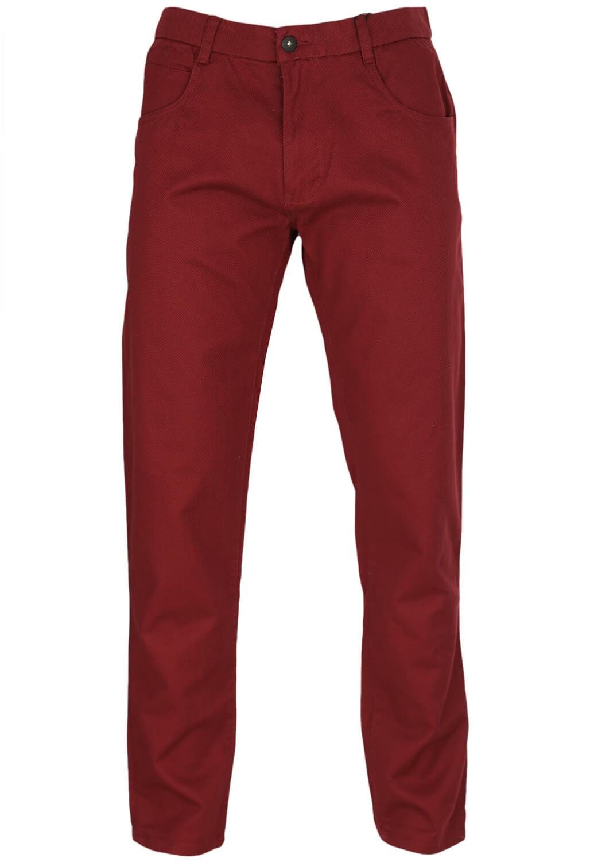Pantaloni Reserved Benny Dark Red