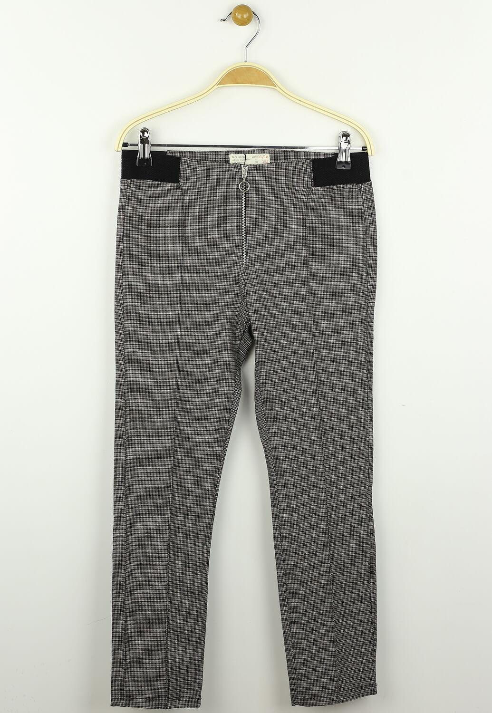 Pantaloni ZARA Whitney Dark Brown