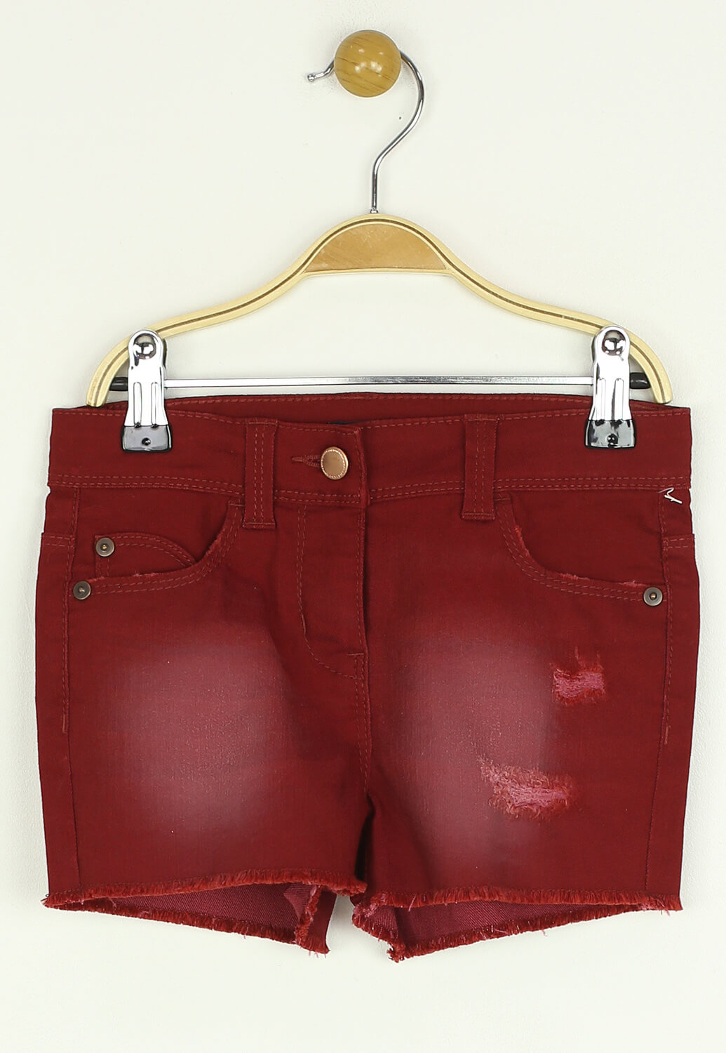 Pantaloni scurti Kiabi Keira Dark Red