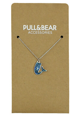 COLIER PULL AND BEAR MERMAID TURQUOISE