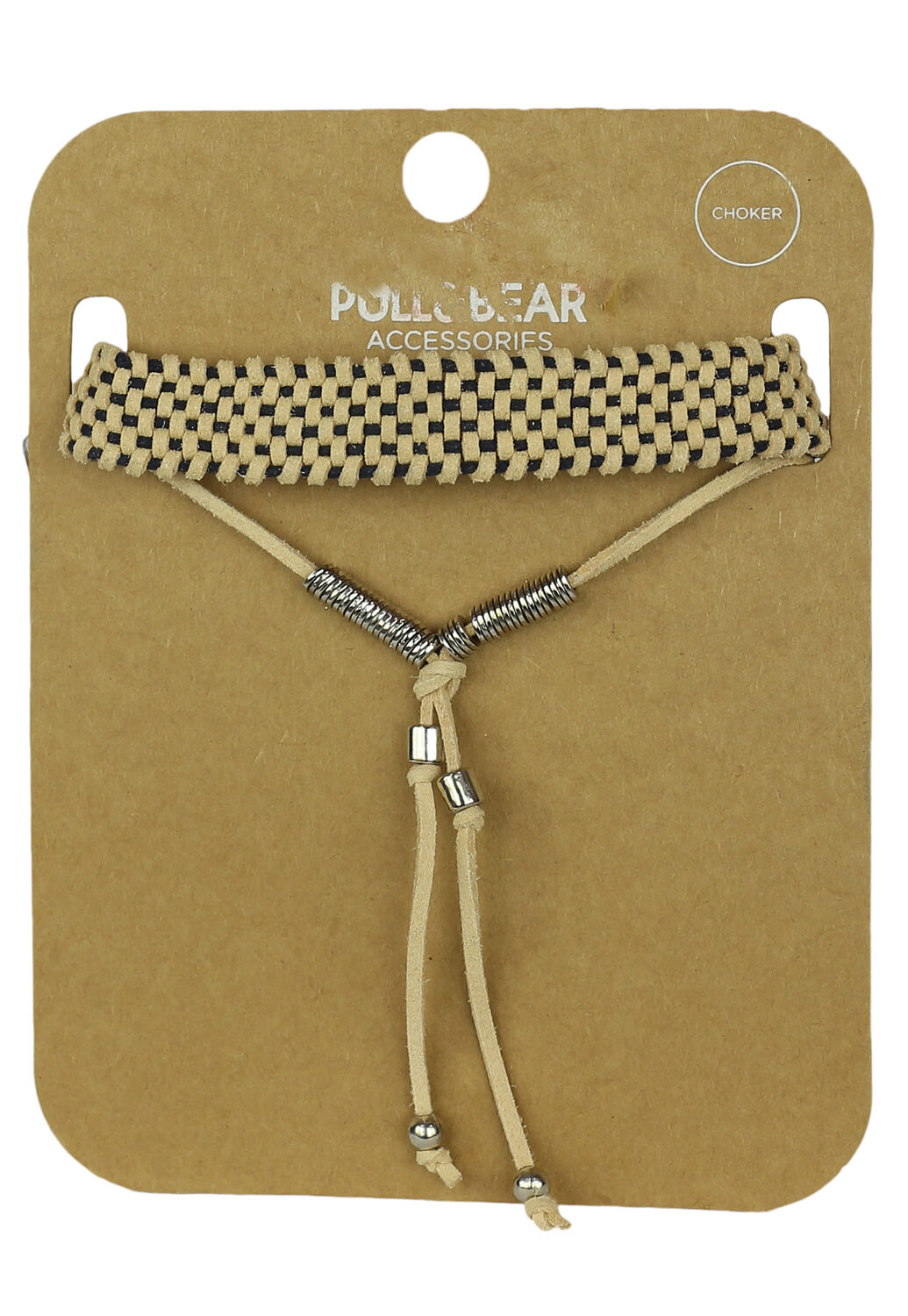 Colier Pull and Bear Tina Light Beige