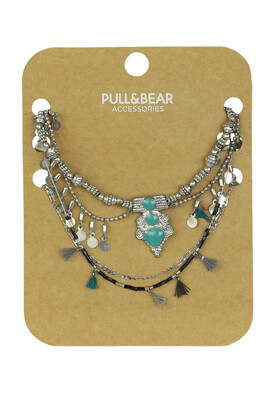 SET COLIER PULL AND BEAR DOREEN SILVER
